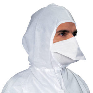 Pouch Style Cleanroom Face mask