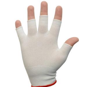 Nylon Half Finger Glove Liner