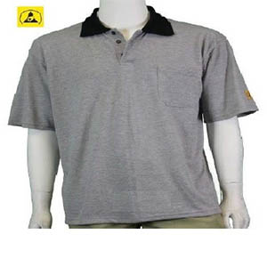 anti static polo t-shirt