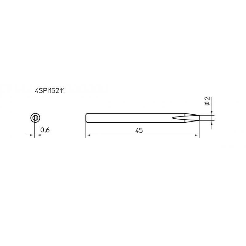 SPI26 206 (10 pcs.) Soldering Tip