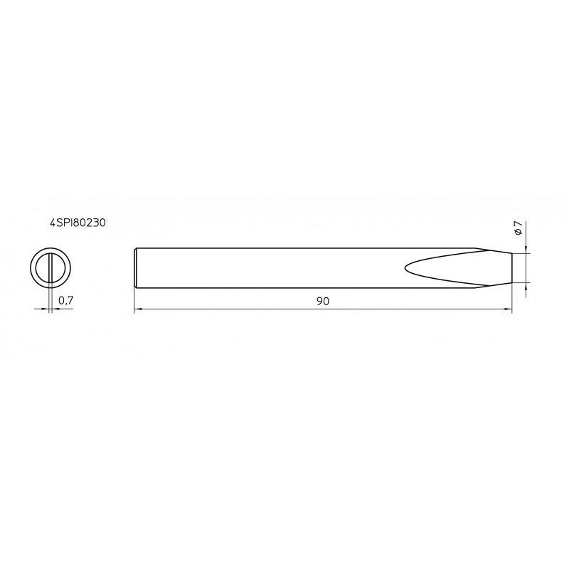 SPI80 230 Soldering Tip