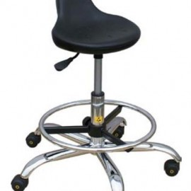 ESD Stool with Standing Rest