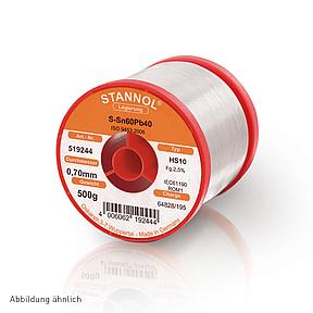 Soldering wire HS10 - Sn60,Pb40 - 0.2 mm , 1000 gr , 2.5% Flux