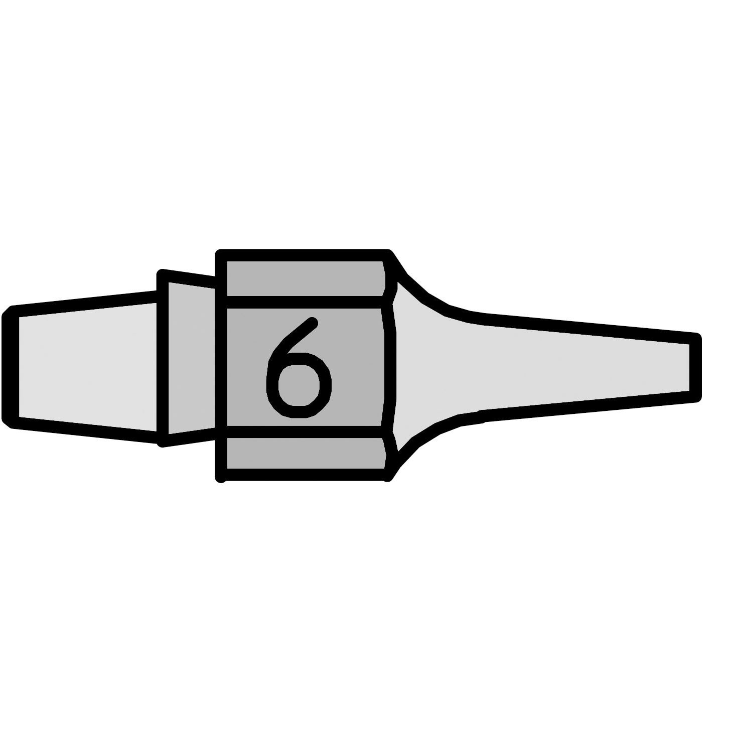 DX 116 Desoldering Nozzle