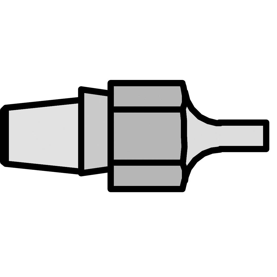 DX 120 Desoldering Nozzle