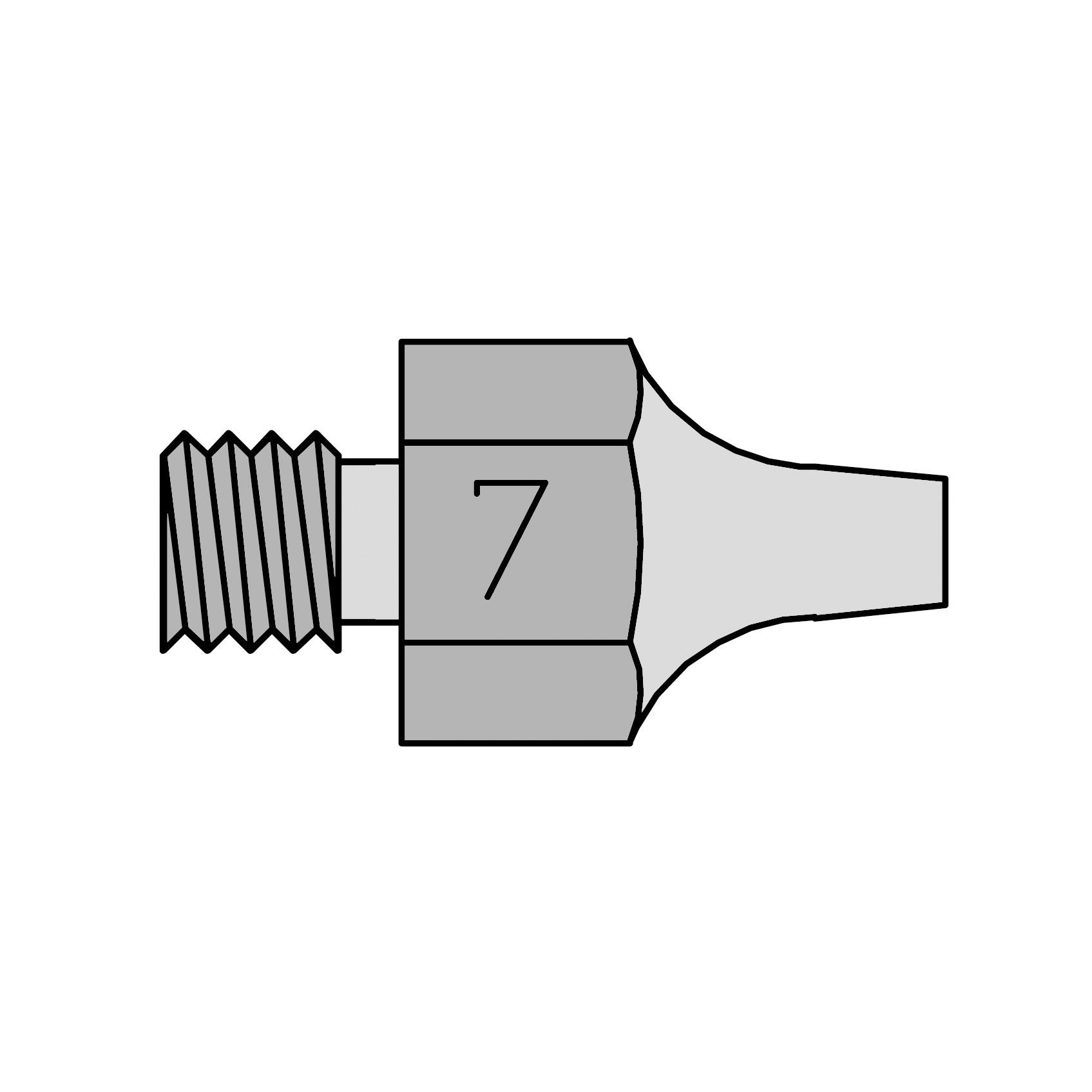 DS 117 Desoldering nozzle