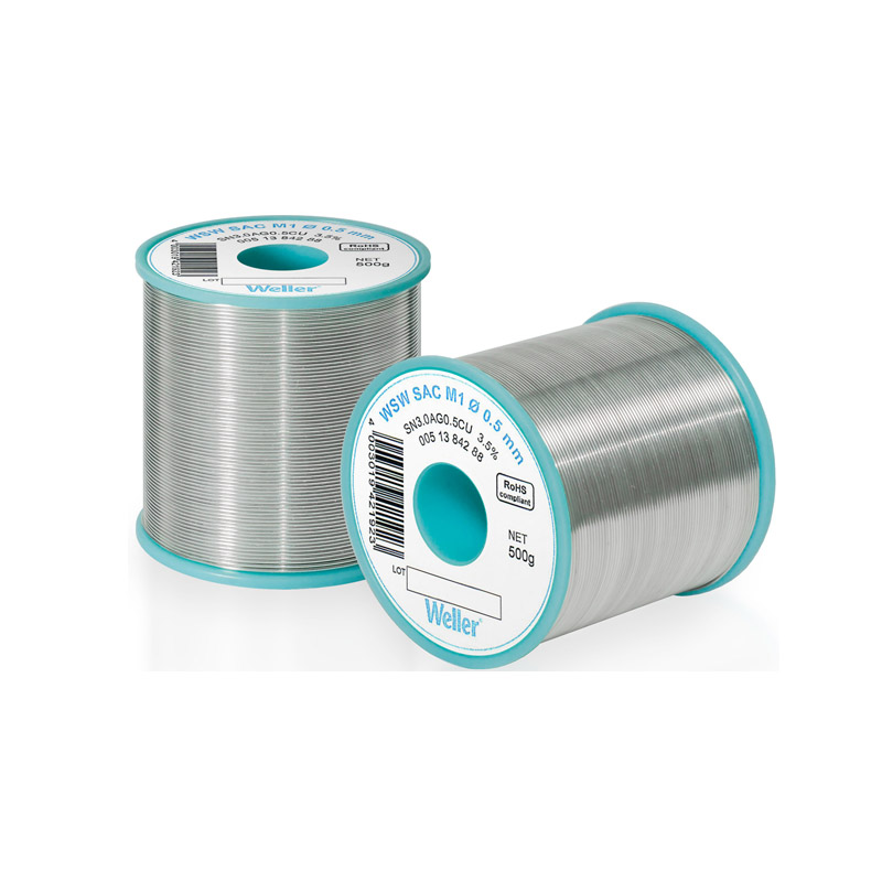 WSW SAC M1 1,6 mm Solder Wire Lead-free solder wire for longer tip lifetime