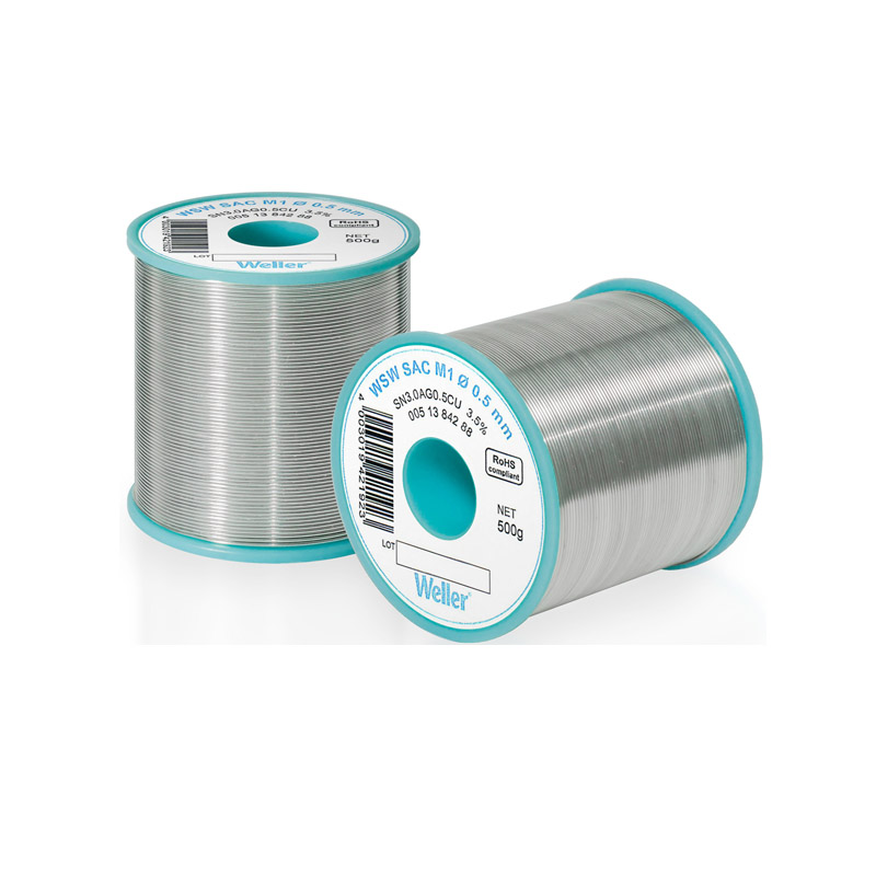 WSW SAC M1 0,8 mm Solder Wire Lead-free solder wire for longer tip lifetime