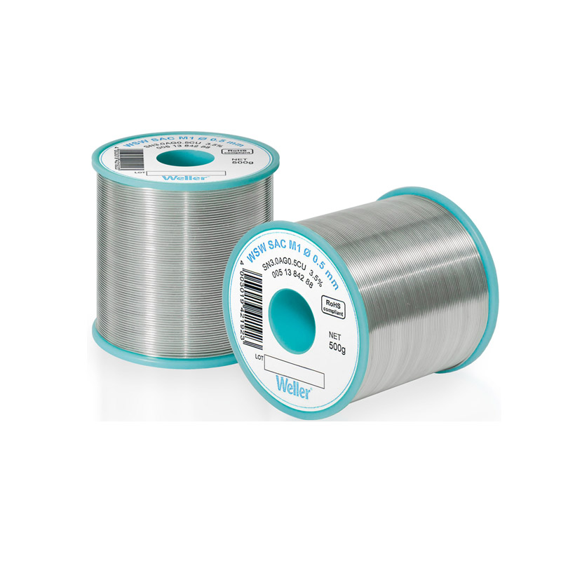 WSW SAC M1 0,3 mm Solder Wire Lead-free solder wire for longer tip lifetime