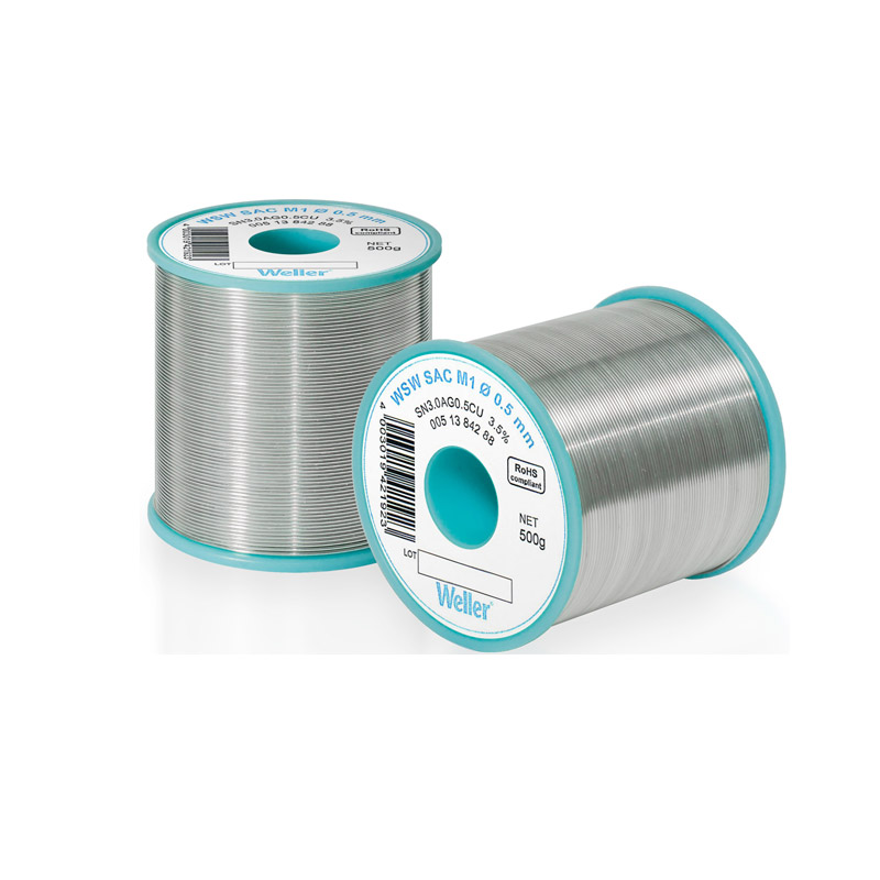 WSW SC M1 1,2 mm Solder Wire Lead-free solder wire for longer tip lifetime