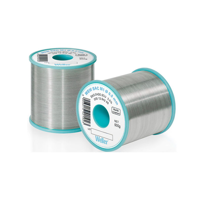 WSW SC L0 1,2 mm Solder Wire Lead-free solder wire for longer tip lifetime