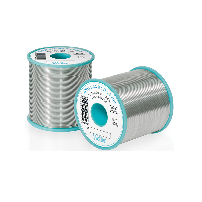 WSW SC L0 1,0 mm Solder Wire Lead-free solder wire for longer tip lifetime