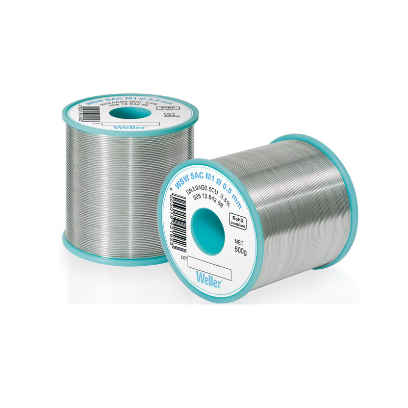 WSW SC L0 0,8 mm Solder Wire Lead-free solder wire for longer tip lifetime