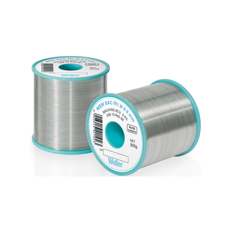 WSW SAC M1 0,3 mm Lead-free solder wire for longer tip lifetime