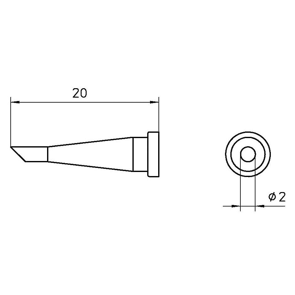 LT 22CP soldering tip