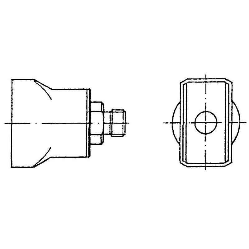 D10 Hot Air Nozzle
