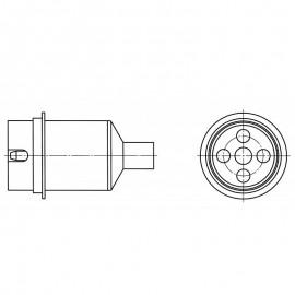 Hot air nozzles for HAP 3000 (WHA 3000P / V),HAP 2 (WHA 2000) and HAP 3 (WHA 700, WHA 300)