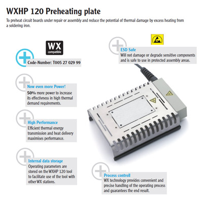 WXHP 120 Preheating plate