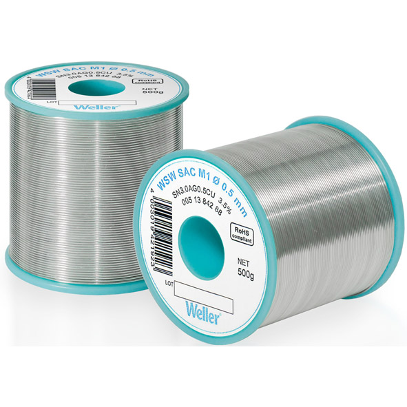 WWeller WSW SAC L0 Solder Wire 1,2mm