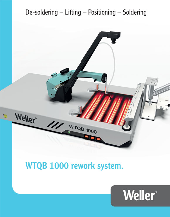 Weller WTQB 1000 Rework Station Brochure