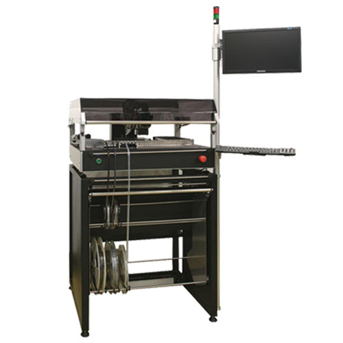 P10 pick & place machine with optical alignment system