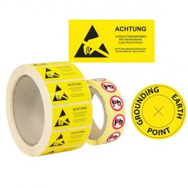 ESD Tapes, Signs & Labels
