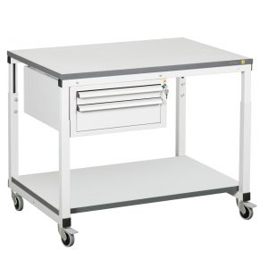 ESD movable table