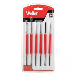 Weller Solder Aid Kit 6 Double sided Tools