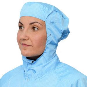 Cleanroom Permanent Hood and Shoulders