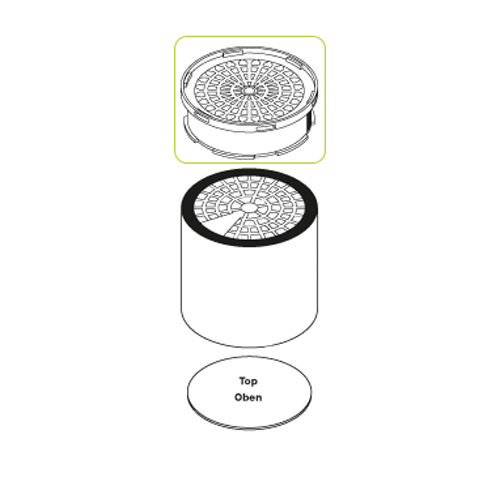 Air cleaning filter WFE