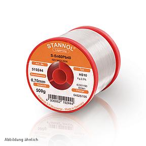 Soldering wire HS10 - Sn60,Pb39,Cu1 - 0.3 mm , 250 gr , 2.5% Flux