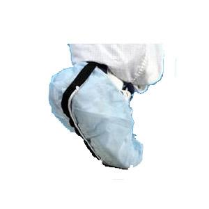 ESD Shoe covers non-woven with conductive stripe