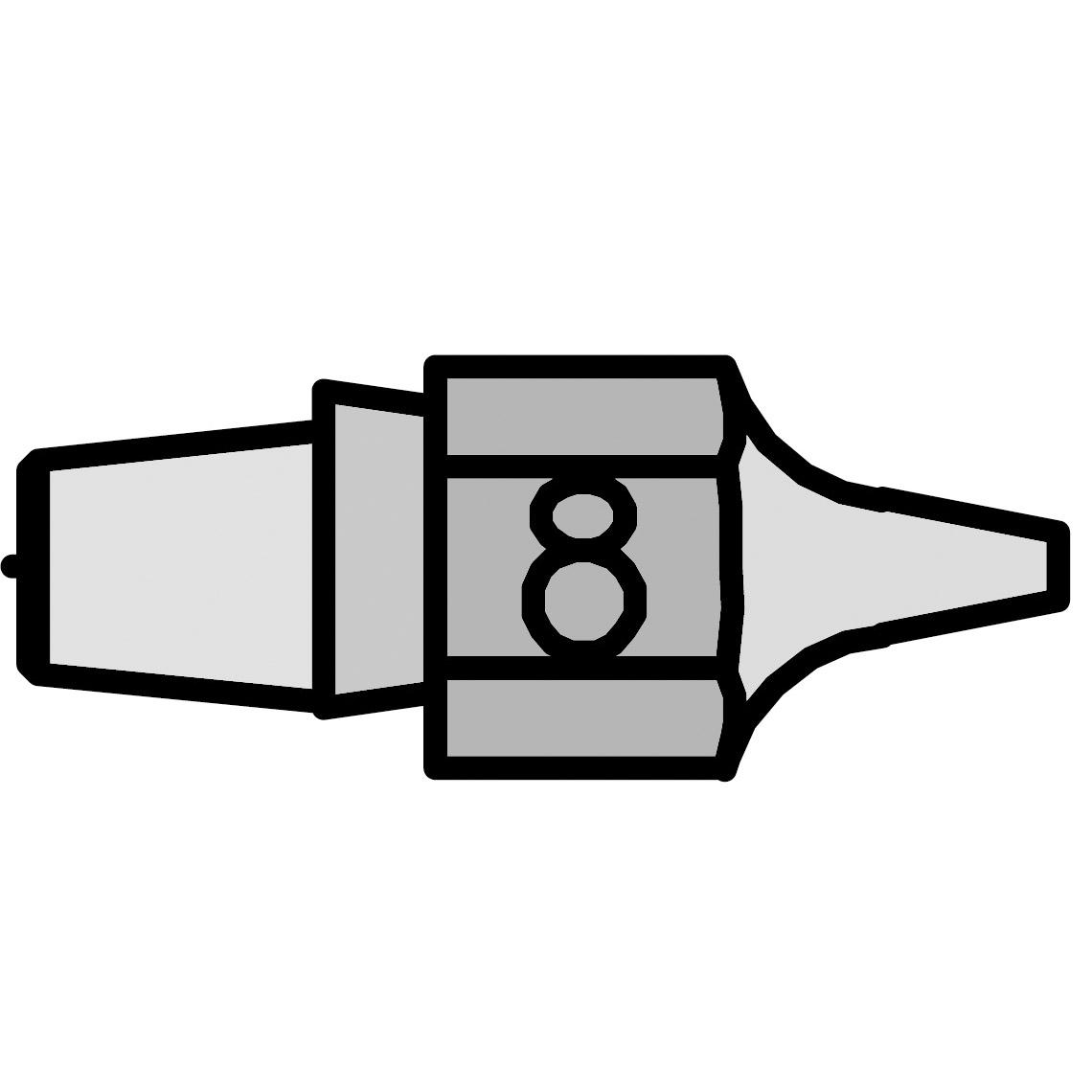 DX 118 Desoldering Nozzle