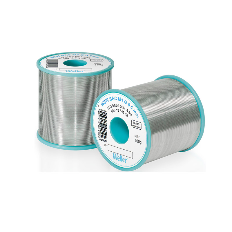 WSW SAC M1 1,2 mm Solder Wire Lead-free solder wire for longer tip lifetime
