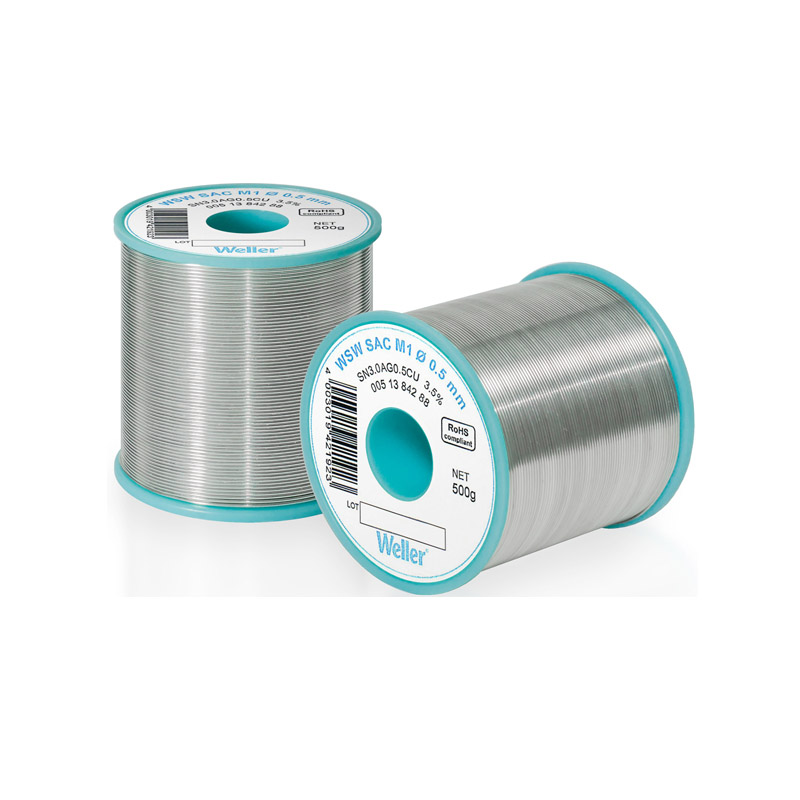 WSW SC M1 0,8 mm Solder Wire Lead-free solder wire for longer tip lifetime