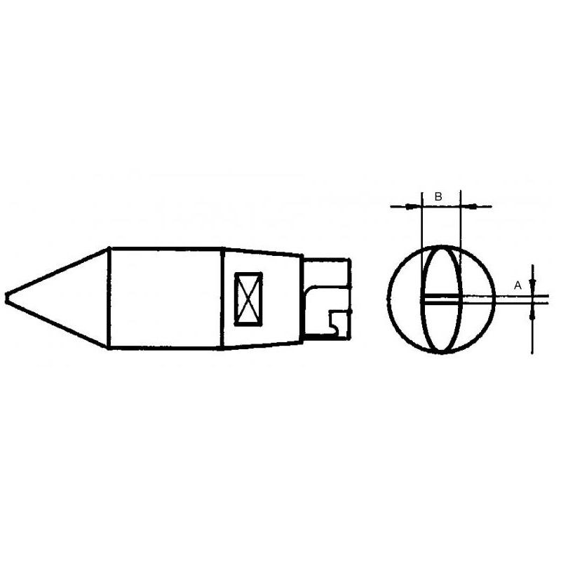 Weller HT soldering tips for Soldering Iron / LR 82 & FE 80