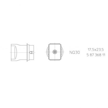 Hot Air Nozzles For WQB4000SPOS