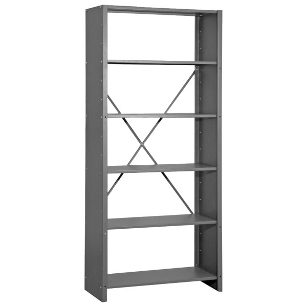 Shelvings with side panels